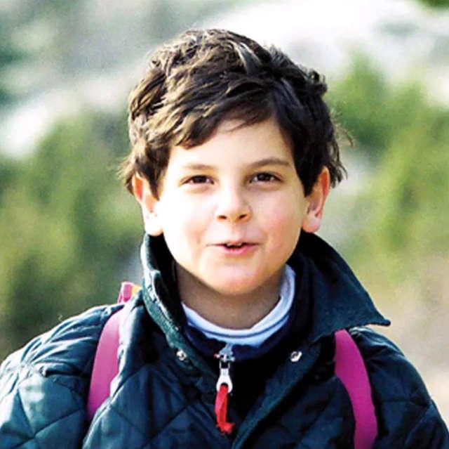 Carlo als Kind.